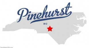 map_of_pinehurst_nc
