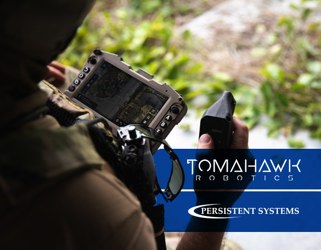 Tomahawk Robotics Brings its Kenisis Universal Robotic Controller App for Unmanned Systems to MPU5 Networked Radio